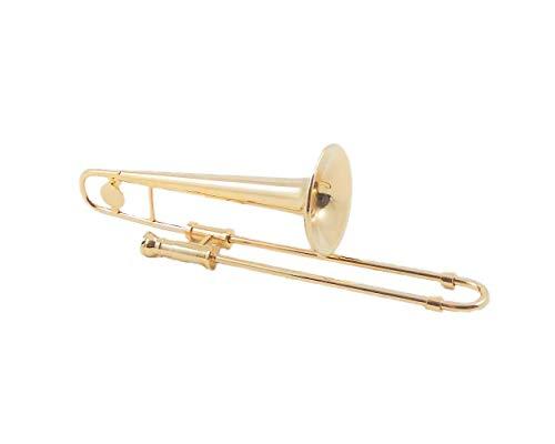 Melody Jane Casa de Muñecas Trombón Miniatura Música Habitación Escuela Instrumento 1:12