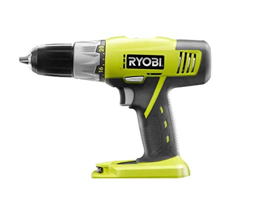 Ryobi P271 One+ 18 Volt Lithium Ion 1/2 Inch 2-Speed Drill Driver (Bare Tool Only, Non-Retail Packaging) (Renewed)