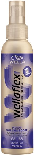 Wellaflex Instant Volume Boost Gel-Spray starker Halt, 6er Pack (6 x 150 ml)