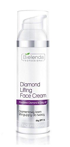 Bielenda profesional en polvo diamante y easy-lift Diamond levantamiento crema facial SPF 15| diamentowy Krem liftingujacy do twarzy 100ml + Regalo