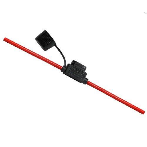 Offgridtec 4 mm² Standard-Flachsicherungshalter für KFZ Flachsicherungen