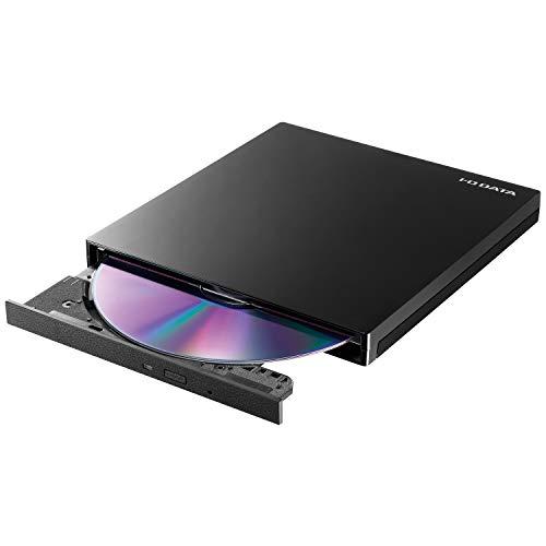 I-O DATA 外付け DVDドライブ 薄型ポータブル/USB3.0/バスパワー/Win/Mac/国内メーカー製 EX-DVD04K