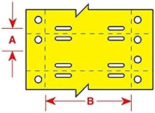 Brady BT-508-YL-2075, 63124 BradyTag Printable Tag
