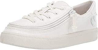 BILLY Footwear Kids Unisex Classic Lace Low (Toddler/Little Kid/Big Kid) White Pu 6 M US Big Kid