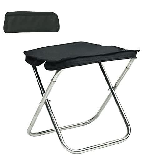 UMULIN Silla de camping portátil relajante y cómodo respaldo silla plegable al aire libre adecuada para camping, picnic, pesca, etc.