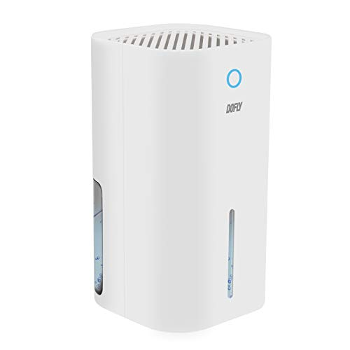 DOFLY Mini Deshumidificador Electrico para Casa, Absorbe Humedad de Aire Portátil de 850 ml, Pequeños Deshumidificadores Silenciosos para Moho, Humedad en la Cocina, Baño, Dormitorio, Armario ✅
