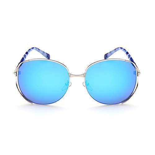 TSAR003 Gafas De Sol para Mujer Gafas De Sol Polarizadas De Moda Gafas De Sol Polarizadas Redondas Clásicas para Mujer Protección UV Gafas De Conducción E