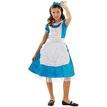 Disfraz de Alicia para niñas en varias tallas: Amazon.es: Juguetes ...