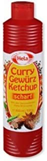 Hela Curry Gewurz Ketchup Hot 300 ml ( 6 pack )