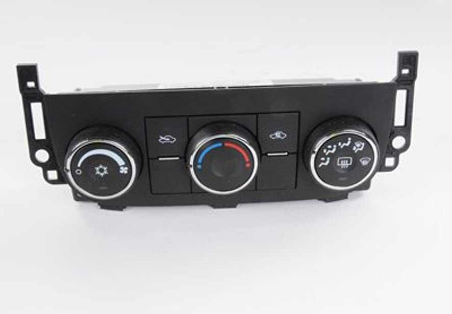 ACDelco 22884768 GM Original Equipment Heating and Air Conditioning Control Panel with Rear Window Defogger Switch