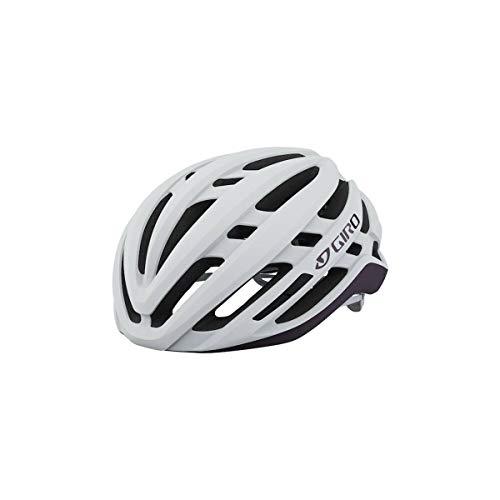 Giro Agilis Damen Rennrad Fahrrad Helm weiß/lila 2021: Größe: S (51-55cm)