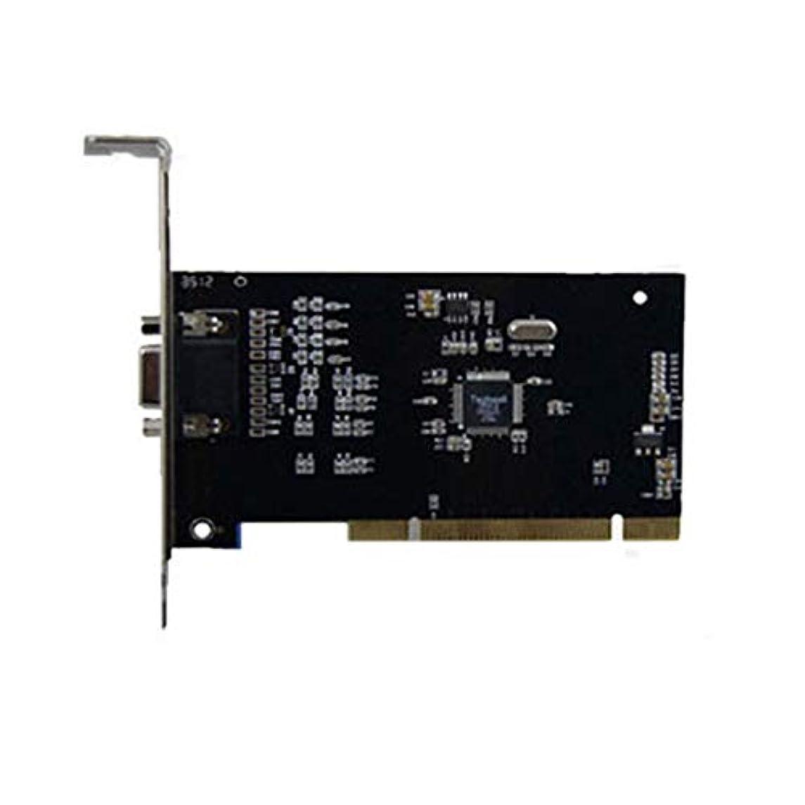 アドバンテージ力強いくちばしFidgetGear CCTVカメラ用PCI 8チャンネルビデオキャプチャカードキャプチャアダプタコンバータ