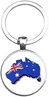 Sleutelhanger Glas - Australie