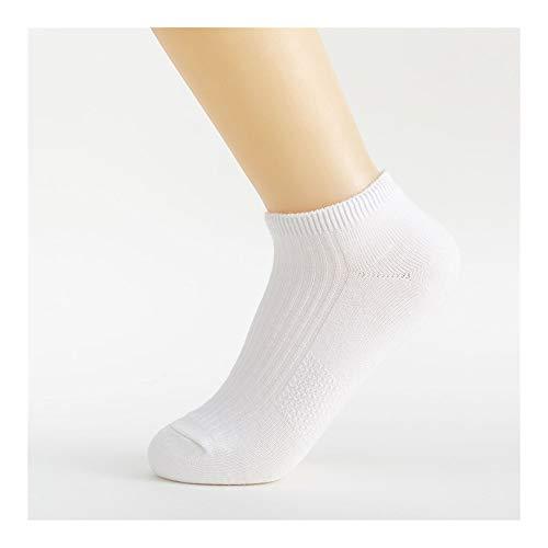 Clásico Transpirable Cómodo Calcetines de vestir De las mujeres 1 par atlético escotados No Calcetines, Damas Comfort recto del amortiguador del algodón del calcetín corto Correr Deportes Calcetines