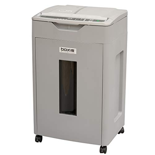 Our #5 Pick is the BOXIS AF700 Autoshred Micro-Cut Paper Shredder