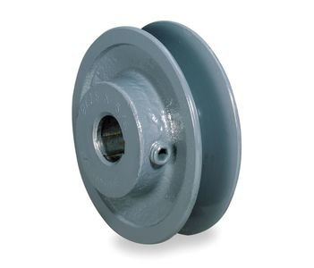 "2.5"" X 5/8"" Single Groove Fixed Bore ""A"" Pulley # AK25X5/8"