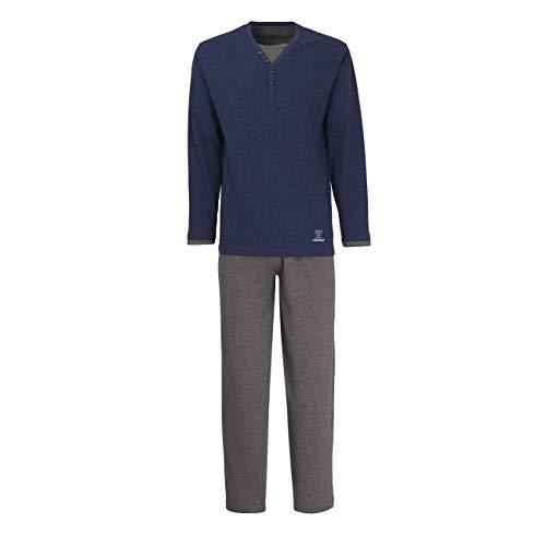 Ceceba Herren Nachtwäsche Zweiteiliger Schlafanzug, Pyjama lang, aus Baumwolle 58