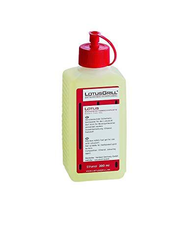 LotusGrill BP-L-200 – Gel bioetanol encendido, 200 ml
