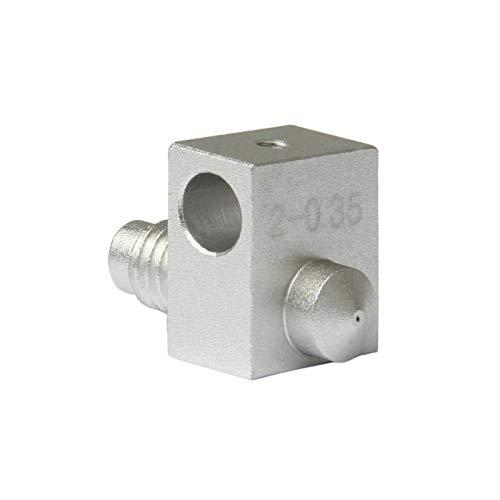 ZHANGSHENG ZSHENG 0.35-1.75mm J-Head Hotend Boquilla y Cartucho de Calentador con Seguimiento Real (Size : 2 0.3mm)