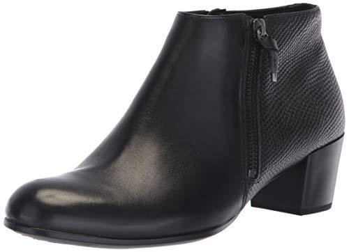 ECCO Women's Shape M 35 Ankle Boot, Black/Black, 40 M EU (9-9.5 US)