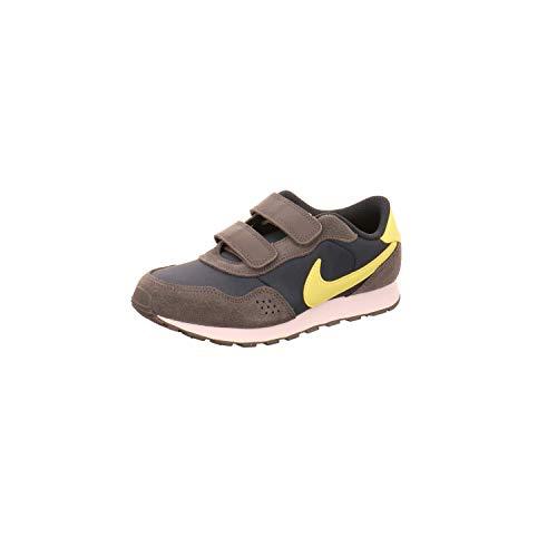 Nike Md Valiant (PSV) Sneaker, Deep Ocean/Limelight-Iron Grey, 31 EU
