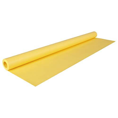 Clairefontaine 195715C Rolle (färbiges Kraftpapier, 10 x 0,7 m, 65 g, PEFC, ideal für Ihre Bastelprojekte) 1 Stück zitronengelb