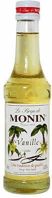 モナン バニラシロップ 瓶 50ml 日仏貿易