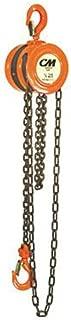 CM 2255 Series 622 Low Headroom Hand Chain Hoist, 1000 lb. Capacity, 10' Lift