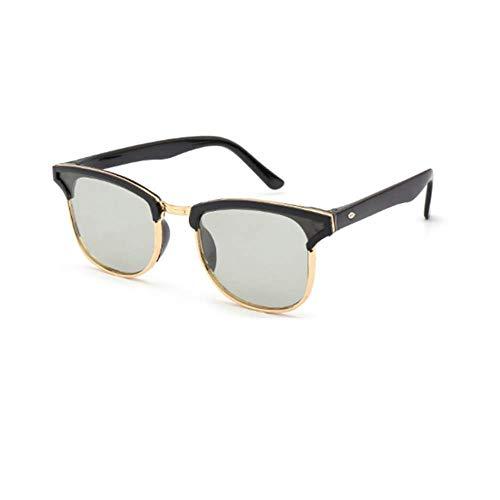Page Adelasd 2020 nuevas lentes que cambian de color hombres y mujeres gafas de sol universales gafas de sol de metal de moda unisex