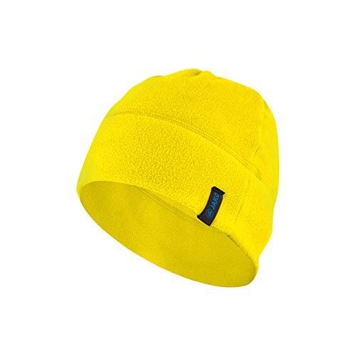 JAKO Fleecemütze Mütze, Citro, 02