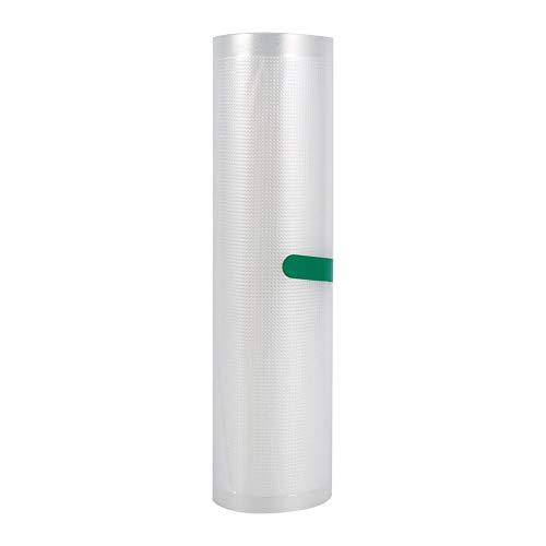 Fdit Rollos de sellador de Alimentos al vacío de Cocina Membranas de PE Mantener Bolsas Frescas Película de Envoltura Ideal para Almacenamiento de vacío Preparación de Comidas Sous Vide(2#)