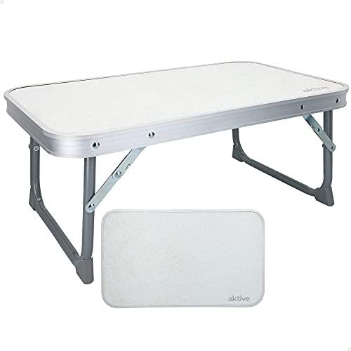 AKTIVE 52842 - Mesa plegable camping aluminio AKTIVE camping 56x34x24 cm
