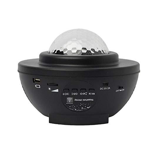 SUN100 Proyector De Ondas Xinghai Luz Nocturna Galaxy Proyector De Cielo Estrellado Luz Nocturna Música Altavoz Bluetooth