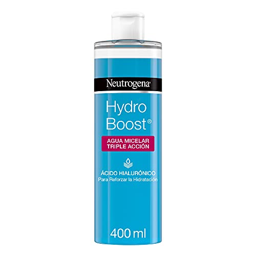 Neutrogena Hydro Boost Agua Micelar Triple Accion con Ácido Hialurónico - 400 ml