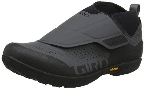 Giro Terraduro Mid Herren MTB Enduro MTB Traillaufschuhe, Herren, Dark Shadow Black, 44 EU