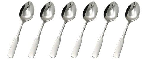 GRÄWE® Tafellöffel 6 Stück, Serie SPATEN aus Edelstahl