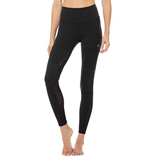 Alo Yoga Damen High Waist Impact Legging Yoga-Hosen, schwarz, XX-Small