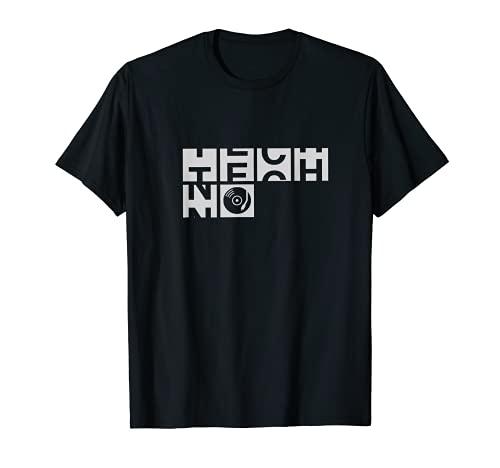 Camiseta Techno Blocks - Techno Black Camiseta