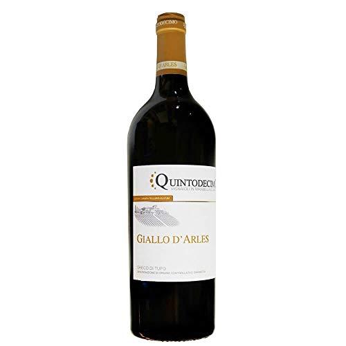 Vino Greco di Tufo GIALLO D'ARLES DOCG bianco - Quintodecimo - Cartone da 6 Pezzi