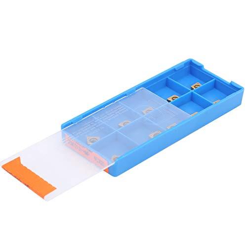 Garantía de calidad con almacenamiento de caja de plástico 10 piezas Suministros de la industria de herramientas de torneado para desbaste de acabado de acero