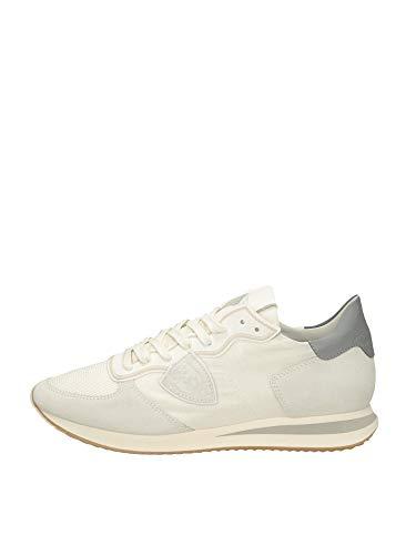 Philippe Model Uomo Sneakers TZLU-WB16 TRPX Low Blanc (Numeric_44)