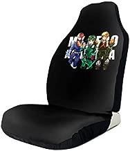 JWGDCBY My Hero Academia Izuku MidoriyaCar Car Seat Covers Music Compatible Fits for Most Car,Universal