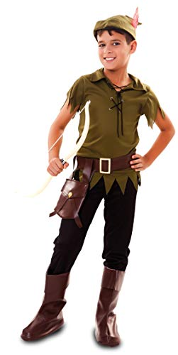 Fyasa 706538-T03 Robin Hood - Disfraz de capó para 10 a 12 años, multicolor, tamaño mediano