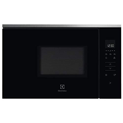 Micro ondes Encastrable Electrolux KMFE172TEX - Micro-Ondes Intégrable Inox anti-trace et noir - 17 litres - 800 W