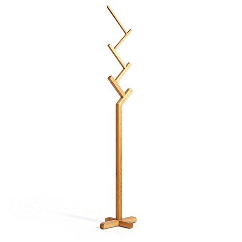 Mode-Regal XXGI Standing Bamboo Tree-Shaped Display Coat Stand With6 Haken Und Feste Füße Für Kleidung Schals Und Hüte (40 * 30 * 187 cm / 15,75 * 11,81 * 73,62 Zoll)