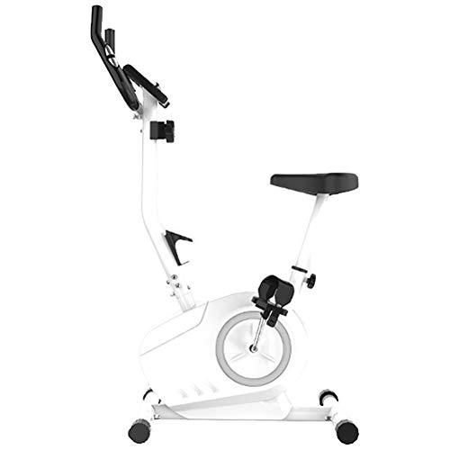 Indoor Fahrrad, Heimtrainer Fahrrad Mit Einstellbarem Widerstand, 8-stufige Widerstandseinstellung, Leises Schwungrad Mit 5 Kg, Zweiwege-magnetsteuerung, Herzfrequenzerkennung, Lcd