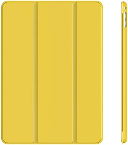 JETech Case for iPad Air 2 Not for iPad Air 1st Edition Smart Cover Auto Wake Sleep Yellow product image