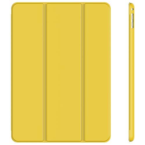 JETech Hülle Kompatibel iPad Air 2, Schutzhülle mit Ständer Funktion & Auto Schlaf/Wachen, Gelb