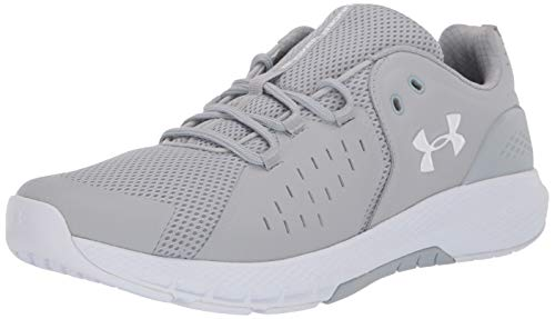 Under Armour Men's Charged Commit 2.0 Cross Trainer Running Shoe, Mod Gray (102)/White, 12