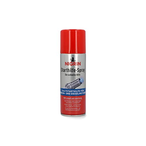 NIGRIN 74040 Starthilfespray, 200 ml,...
